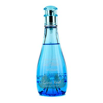 Davidoff Cool Water Coral Reef Eau De Toilette Spray (Limited Edition)  100ml/3.4oz