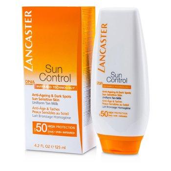 Lancaster Sun Control Body Uniform Tan Milk SPF50  125ml/4.2oz