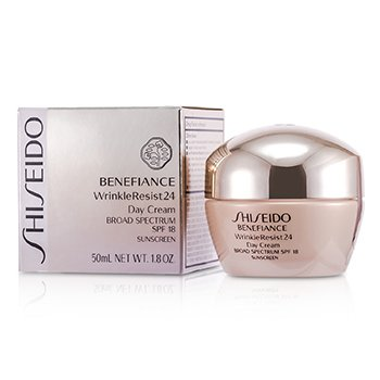 Shiseido Benefiance WrinkleResist24 Day Cream SPF 18  50ml/1.8oz