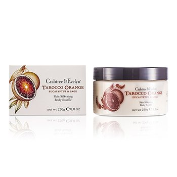Crabtree & Evelyn Tarocco Orange, Eucalyptus & Sage Skin Silkening Body Souffle  250g/8.8oz