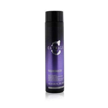Tigi Catwalk Fashionista Violet Shampoo (For Blondes and Highlights)  300ml/10.14oz