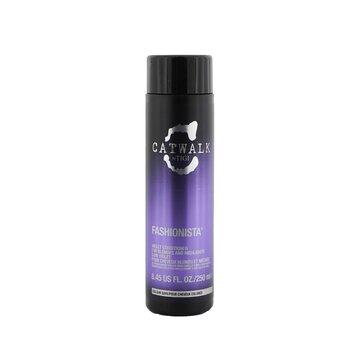 Tigi Catwalk Fashionista Violet Conditioner (For Blondes and Highlights)  250ml/8.45oz