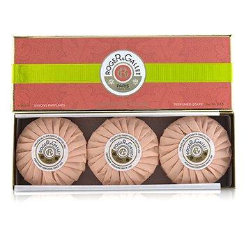 Roger & Gallet Fleur De Figuier Perfumed Soap Coffret  3x100g/3.5oz