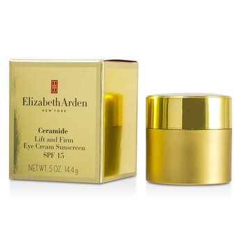 Elizabeth Arden Ceramide Lift and Firm Eye Cream Sunscreen SPF 15  14.4g/0.5oz