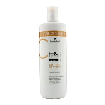 Schwarzkopf BC Time Restore Q10 Plus Conditioner (For Mature and Fragile Hair)  1000ml/33.8oz