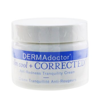 DERMAdoctor Calm Cool & Corrected Anti-Redness Tranquility Cream  50ml/1.7 oz