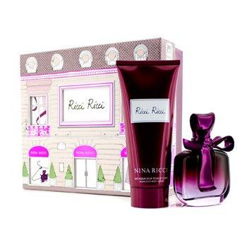 Nina Ricci Ricci Ricci Coffret: Eau De Parfum Spray 80ml/2.7oz + Body Lotion 200ml/6.8oz  2pcs