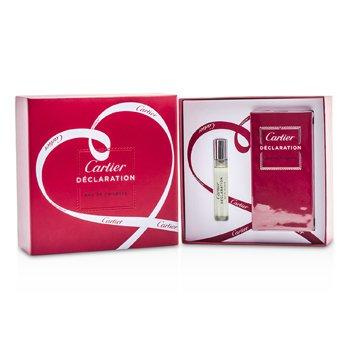 Cartier Declaration Coffret: Eau De Toilette Spray 50ml/1.6oz + Eau De Toilette Spray 9ml/0.3oz  2pcs