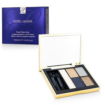 Estee Lauder Pure Color Envy Sculpting Eyeshadow 5 Color Palette - 08 Infamous Sky  7g/0.24oz