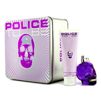Police To Be Coffret: Eau De Parfum Spray 75ml/2.5oz + Body Lotion 100ml/3.4oz  2pcs
