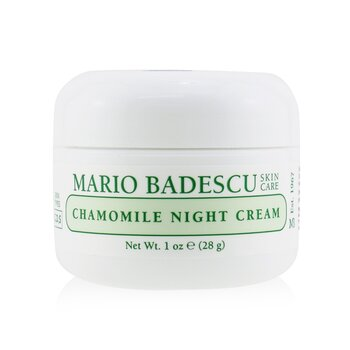 Mario Badescu Chamomile Night Cream - For Combination/ Dry/ Sensitive Skin Types  29ml/1oz