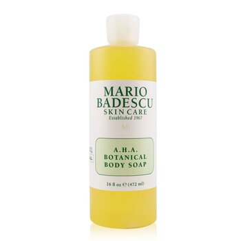 Mario Badescu A.H.A. Botanical Body Soap - For All Skin Types  472ml/16oz