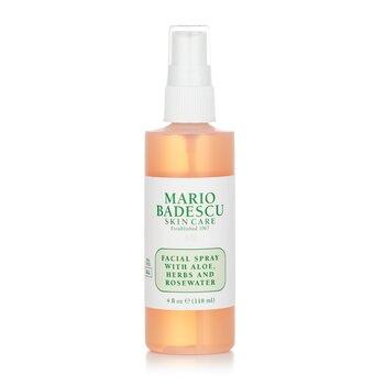 Mario Badescu Facial Spray With Aloe, Herbs & Rosewater - For All Skin Types  118ml/4oz