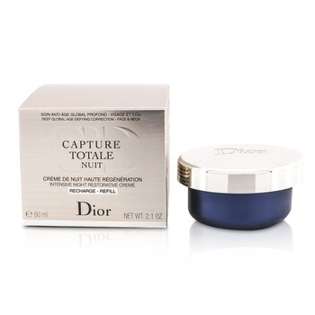 Christian Dior Capture Totale Nuit Intensive Night Restorative Creme Refill F060750999  60ml/2.1oz