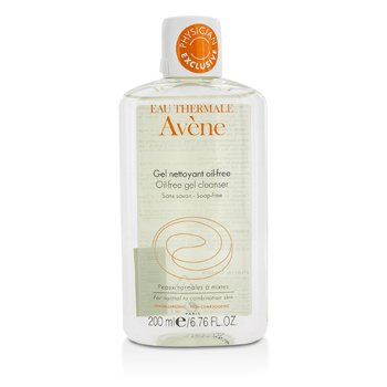 Avene Oil-Free Gel Cleanser (For Normal to Combination Skin)  200ml/6.76oz