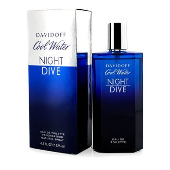 Davidoff Cool Water Night Dive Eau De Toilette Spray  125ml/4.2oz