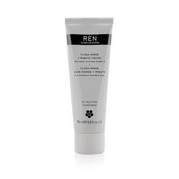 Ren Flash Rinse 1 Minute Facial  75ml/2.5oz