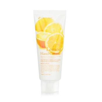 3W Clinic Hand Cream - Lemon  100ml/3.38oz