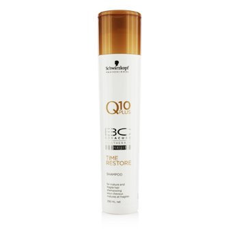 Schwarzkopf BC Time Restore Q10 Plus Shampoo (For Mature and Fragile Hair)  250ml/8.45oz