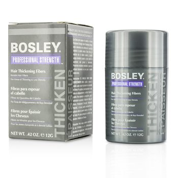 Bosley Professional Strength Hair Thickening Fibers - # Light Brown  12g/0.42oz
