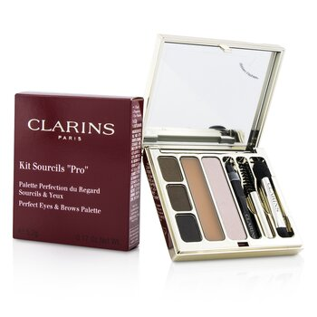 Clarins Kit Sourcils Pro Perfect Eyes & Brows Palette  5.2g/0.17oz