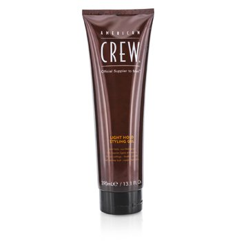 American Crew Men Light Hold Styling Gel (Non-Flaking Gel)  390ml/13.1oz