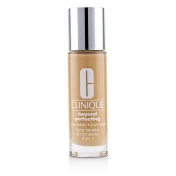 Clinique Beyond Perfecting Foundation & Concealer - # 14 Vanilla (MF-G)  30ml/1oz