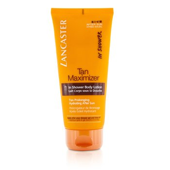 Lancaster Tan Maximizer In Shower Body Lotion  200ml/6.7oz