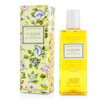 Crabtree & Evelyn Summer Hill Bath & Shower Gel  200ml/6.8oz