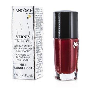 Lancome Vernis In Love Nail Polish - # 154M Miss Coquelicot  6ml/0.21oz