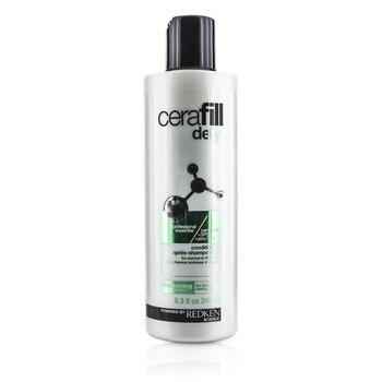 Redken Cerafill Defy Thickening Conditioner (For Normal to Thin Hair)  245ml/8.3oz