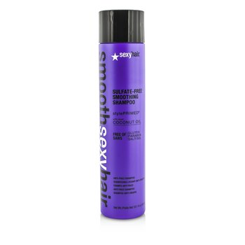 Sexy Hair Concepts Smooth Sexy Hair Sulfate-Free Smoothing Shampoo (Anti-Frizz)  300ml/10.1oz
