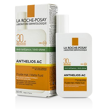 La Roche Posay Anthelios AC 30 Anti-Shine Matte Fluid SPF 30 - For Oily To Acne-Prone Skin  50ml/1.69oz