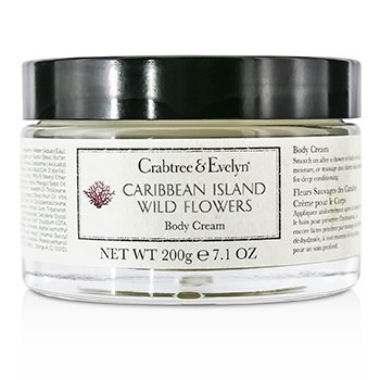 Crabtree & Evelyn Caribbean Island Wild Flowers Body Cream  200g/7.1oz