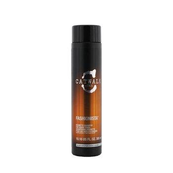 Tigi Catwalk Fashionista Brunette Shampoo (For Warm Tones)  300ml/10.16oz