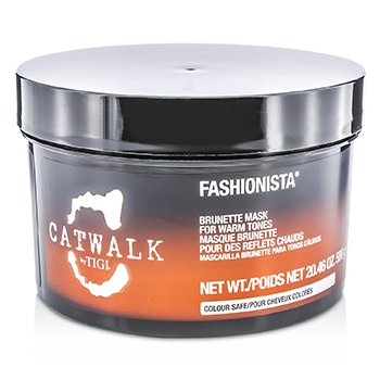 Tigi Catwalk Fashionista Brunette Mask (For Warm Tones)  580g/20.46oz