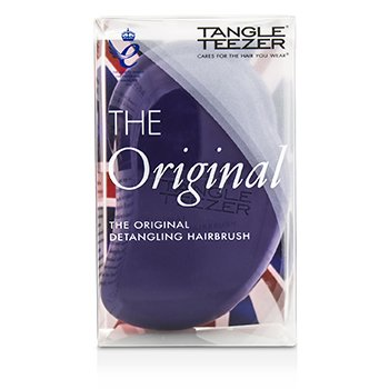 Tangle Teezer The Original Detangling Hair Brush - # Plum Delicious (For Wet & Dry Hair)  1pc