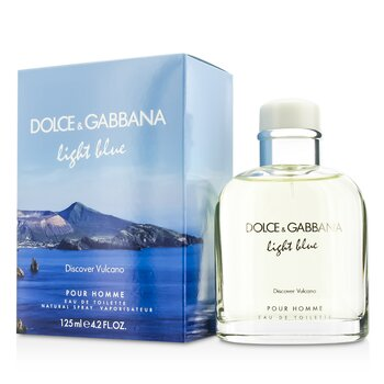 Dolce & Gabbana Light Blue Discover Vulcano Eau De Toilette Spray  125ml/4.2oz