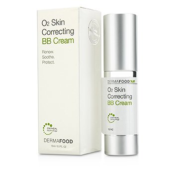 LashFood DermaFood O2 Skin Correcting BB Cream - # Nude  15ml/0.5oz