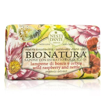 Nesti Dante Bio Natura Sustainable Vegetal Soap - Wild Raspberry & Nettle  250g/8.8oz
