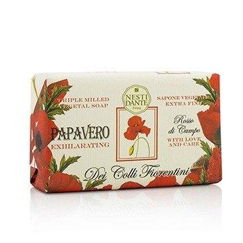 Nesti Dante Dei Colli Fiorentini Triple Milled Vegetal Soap - Poppy  250g/8.8oz