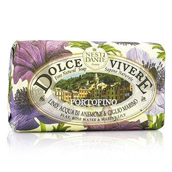 Nesti Dante Dolce Vivere Fine Natural Soap - Portofino - Flax, Rose Water & Marine Lily  250g/8.8oz
