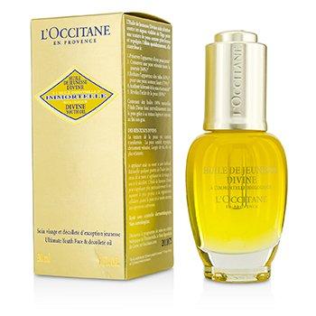 L'Occitane Immortelle Divine Youth Oil - Ultimate Youth Face & Decollete Oil  30ml/1oz