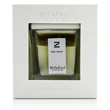 Millefiori Zona Scented Candle - Legni E Spezie  160g/5.64oz