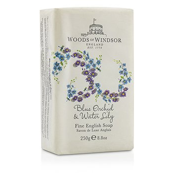 Woods Of Windsor Blue Orchid & Water Lily Fine English Soap  250ml/8.8oz