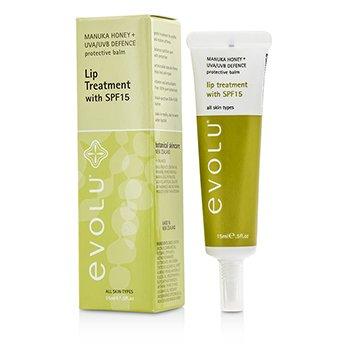 Evolu Lip Treatment SPF15  15ml/0.5oz