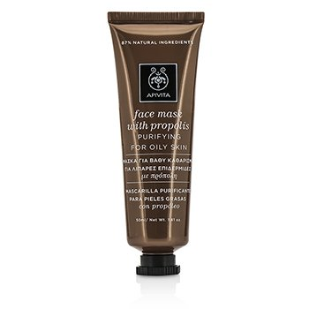 Apivita Face Mask with Propolis - Purifying (For Oily Skin)  50ml/1.81oz