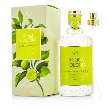 4711 Acqua Colonia Lime & Nutmeg Eau De Cologne Spray  170ml/5.7oz