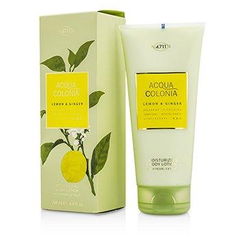 4711 Acqua Colonia Lemon & Ginger Moisturizing Body Lotion  200ml/6.8oz