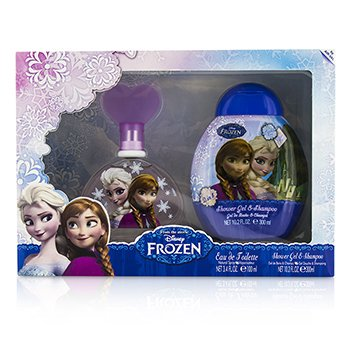Air Val International Disney Frozen Coffret: Eau De Toilette Spray 100ml/3.4oz + Shower Gel & Shampoo 300ml/10.2oz  2pcs